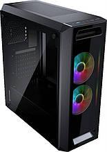 Корпус Cougar MX350 RGB Black без БП