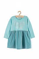 Плаття для дівчинки 92 см, сукня для дівчинки, 5.10.15, блакитна