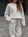 Теплый женский оверсайз костюм 39-583, фото 6