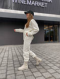 Теплый женский оверсайз костюм 39-583, фото 4