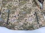 Тактична куртка з капюшоном софтшелл Pixel розмір L (5000HX), фото 4