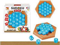 """Детская развивающая настольная игра головоломка """"Sudoku Game"""" , 5+"""
