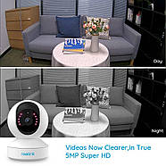WiFi видеокамера Reolink E1 Zoom (5Mp, IP, поворотная, 3-х зум), фото 3