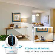 WiFi видеокамера Reolink E1 Zoom (5Mp, IP, поворотная, 3-х зум), фото 4