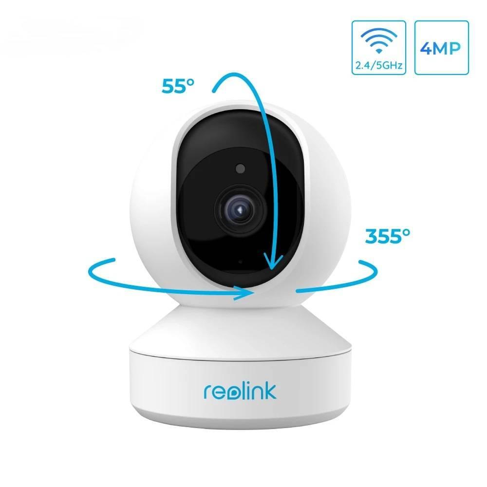 WiFi видеокамера Reolink E1 Pro (4Mp, IP, поворотная)