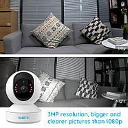 WiFi видеокамера Reolink E1 (3Mp, IP, поворотная), фото 3