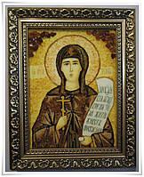 Іменна ікона з янтаря Ксенія іі-71 15*20