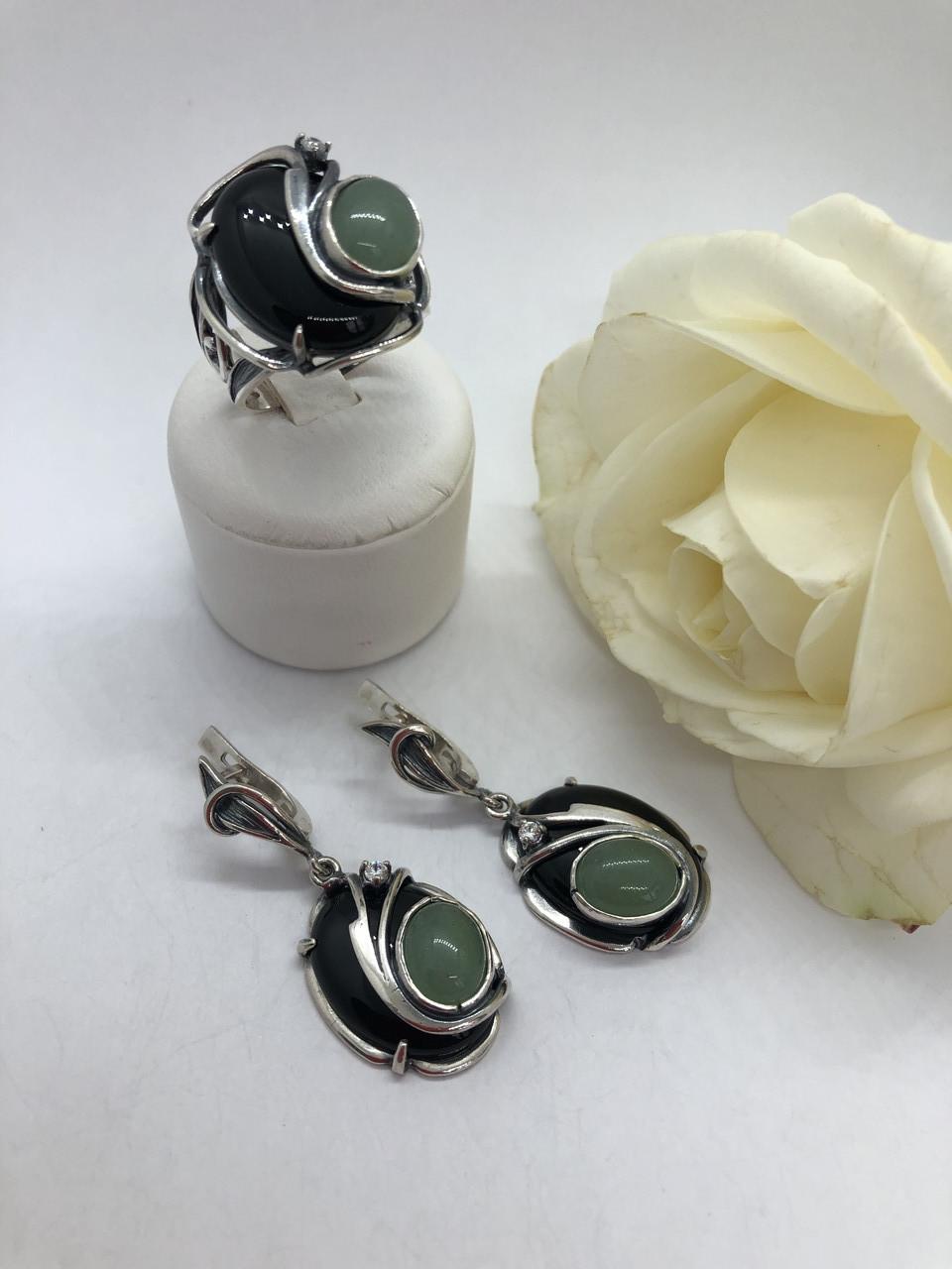 Комплект серебряных украшений Новый Якобз от Ирида-В
