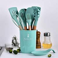 Набір кухонних предметів Kitchen Dining 12 предметів (0350) Силікон