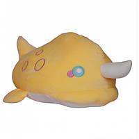 Игрушка плед трансформер 3 в 1 Happy Toys микрофибра (29298) Дельфин