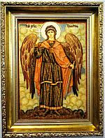 Ікона з янтаря Ангел Хранитель і-121 30*40