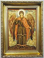 Ікона з янтаря Ангел Хранитель і-121 20*30