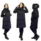 Зимнее Пальто Пуховик на Тинсулейте Дизайнерская Фабричная Модель Tongcoi  Размеры 42-52 в наличии, фото 2