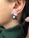 Комплект серебряных украшений Салерно от Ирида-В, фото 4