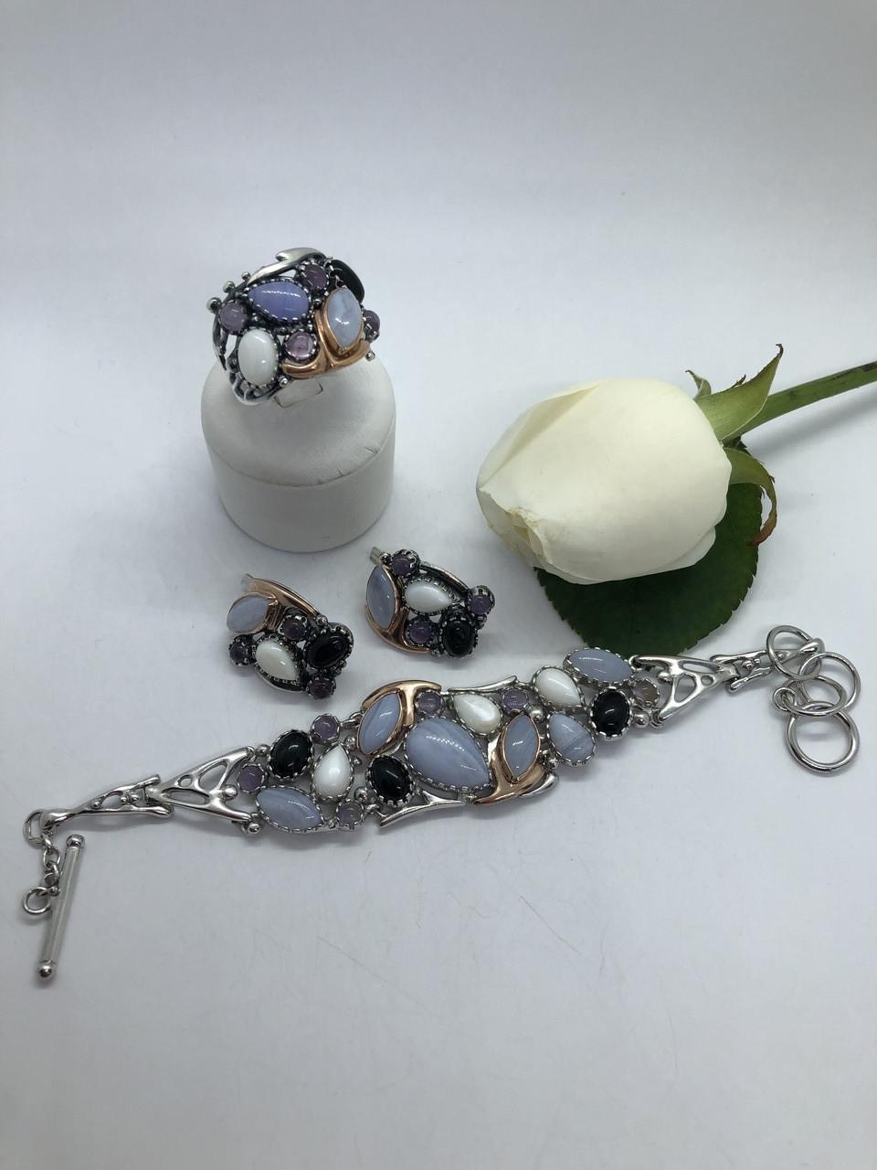 Комплект серебряных украшений Салерно от Ирида-В