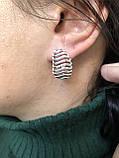 Комплект серебряных украшений Трек от Ирида-В, фото 3
