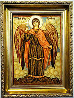 Ікона з янтаря Ангел Хранитель і-121 40*60