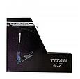 Трюковой самокат с пегами для прыжков Crosser Titan 4.7 Самокат для трюков 120mm синий, фото 10