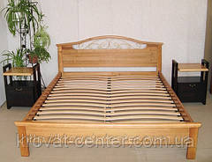 """Кровать """"Фантазия - 2"""". Массив - сосна, ольха, береза, дуб., фото 3"""