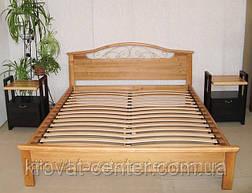 """Кровать двуспальная из натурального дерева """"Фантазия - 2"""" от производителя, фото 3"""