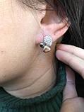 Комплект серебряных украшений Шёлк от Ирида-В, фото 3