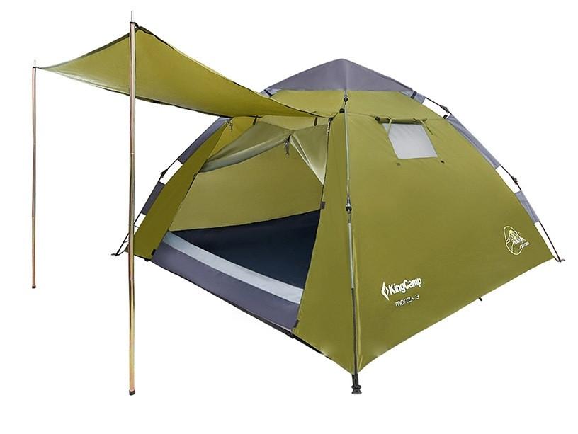 Палатка KingCamp Monza 3 (KT3094) трехместная