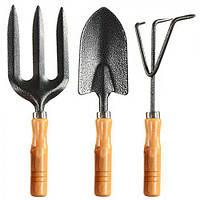 Ручной садовый набор мини-инструментов Areca для сада, 3 прибора в наборе, 24см, садовый набор, набор