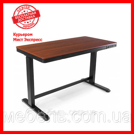 Регулируемый стол Barsky StandUp Memory white electric 2 motors wooden 1200*600 BSU_el-07, фото 2