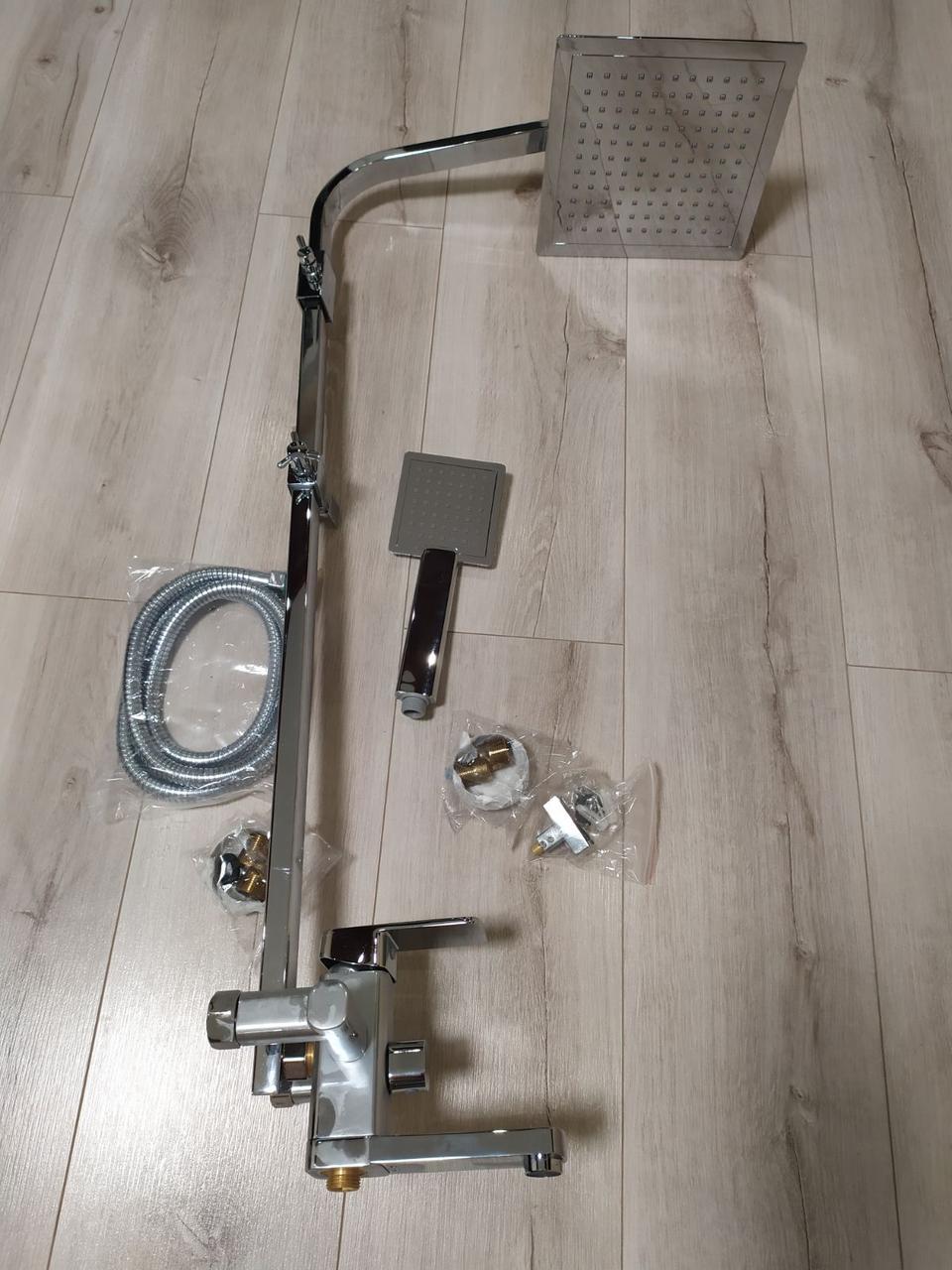 Душевая(панель глянец) система со смесителем
