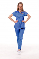 Медицинский костюм Манила синий