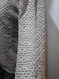 Стильный шерстяной мужской свитер с v-образным вырезом Турция Бежевый, фото 6