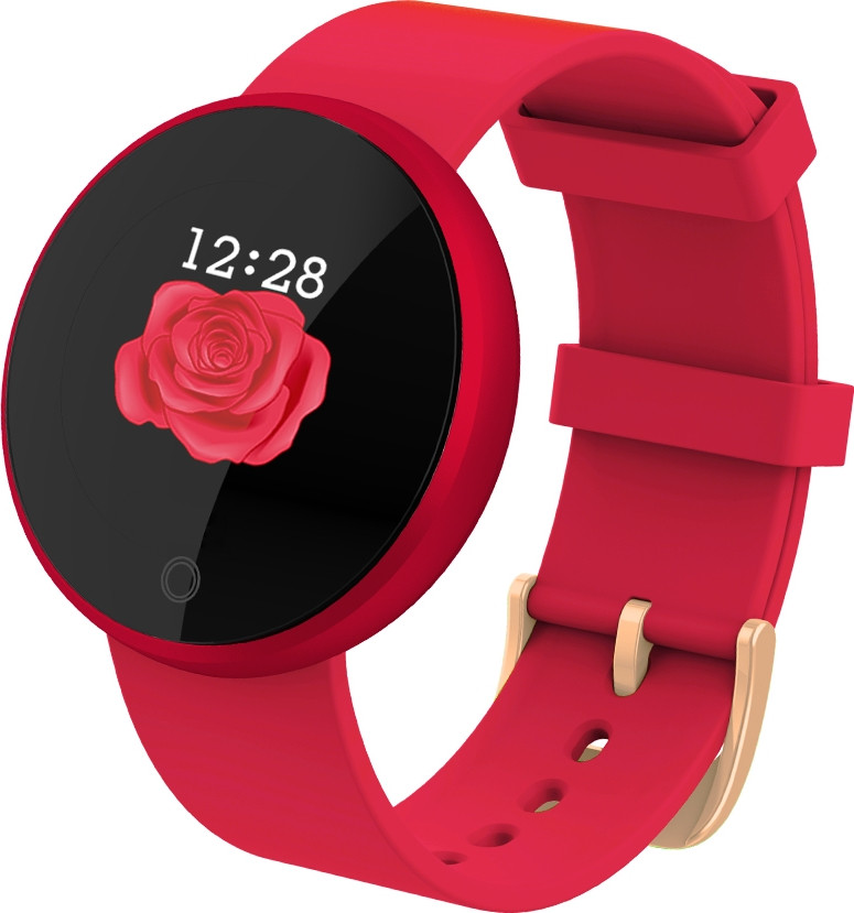 Умный фитнес браслет Lemfo B36 для женщин (Красный)
