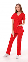 Медицинский костюм Бали слива, фото 1