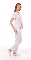 Медицинский костюм Манила белый