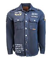 Оригинальная рубашка Top Gun Military Shirt TGR1801 (Navy), фото 1