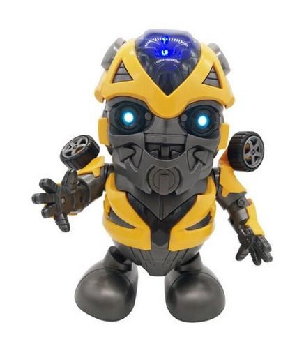 Интерактивная игрушка DANCING ROBOT ЖЕЛТЫЙ | Детская игрушка робот | Танцующий робот