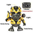 Интерактивная игрушка DANCING ROBOT ЖЕЛТЫЙ | Детская игрушка робот | Танцующий робот, фото 4