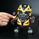 Интерактивная игрушка DANCING ROBOT ЖЕЛТЫЙ | Детская игрушка робот | Танцующий робот, фото 2