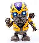 Интерактивная игрушка DANCING ROBOT ЖЕЛТЫЙ | Детская игрушка робот | Танцующий робот, фото 3