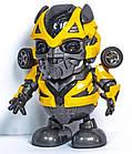 Интерактивная игрушка DANCING ROBOT ЖЕЛТЫЙ | Детская игрушка робот | Танцующий робот, фото 5