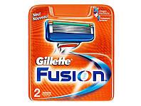 Сменные картриджи Gillette Fusion 2 штуки