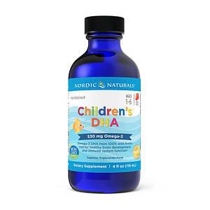Рыбий жир для детей Nordic Naturals Children`s DHA 119 ml