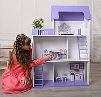 Кукольный домик 3 этажа 120 см Мечта