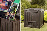 Компостер Keter Deco Composter with Base 340 L ( компостер садовый ), фото 4