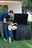 Компостер Keter Deco Composter with Base 340 L ( компостер садовый ), фото 3