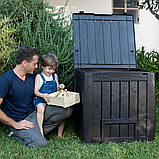 Компостер Keter Deco Composter with Base 340 L ( компостер садовый ), фото 9