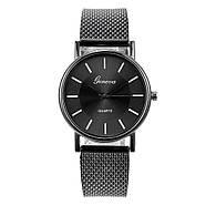 Женские наручные часы Geneva quartz черного цвета, фото 2