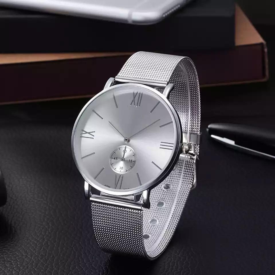 Женские наручные часы Yolako серебрянные кварцевые