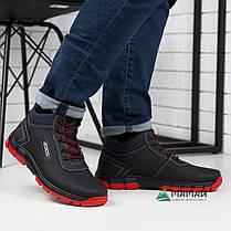 Ботинки мужские зимние с красной подошвой -20°C, фото 2