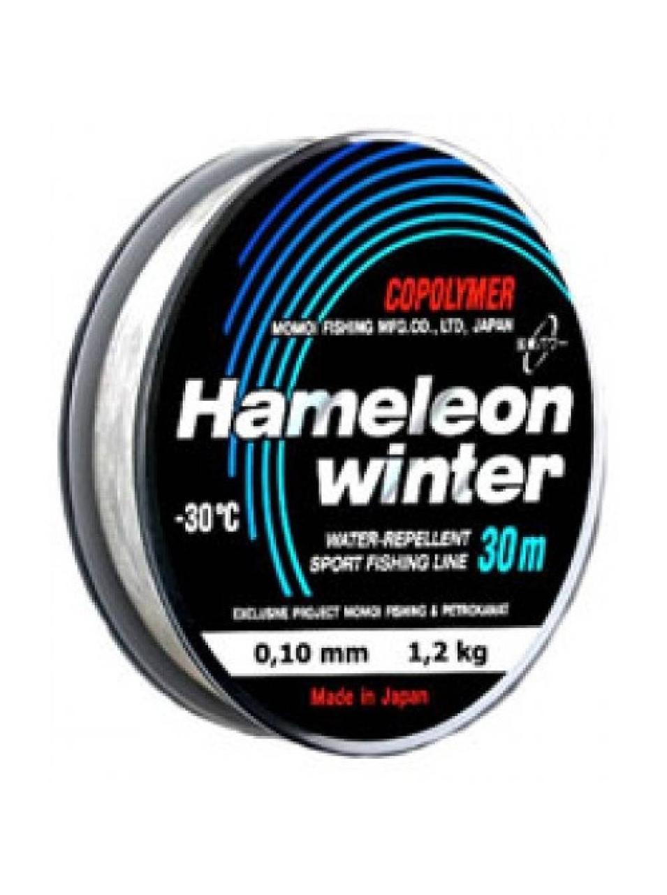Леска Momoi Hameleon Winter 0,21 мм 5,0 кг 30м.